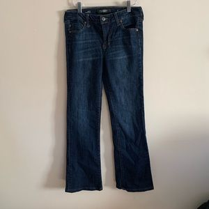 Liverpool Womens 6 Lucy Bootcut Jeans Dark Wash